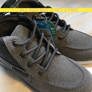 Other - Brand new with tags - Grey boys boots/tennis shoes